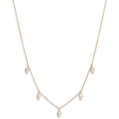 Nadri Shaky Cubic Zirconia Necklace