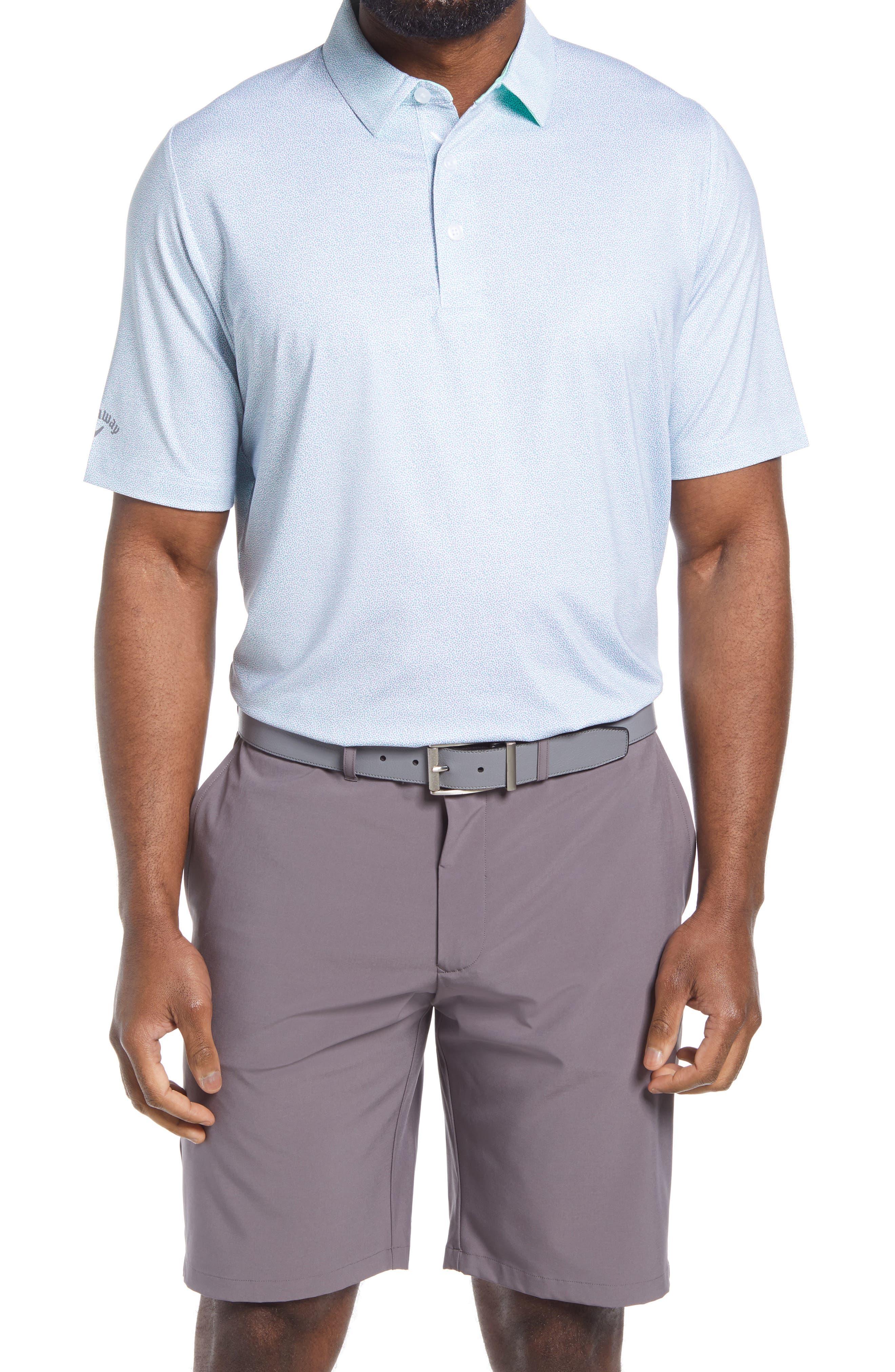 Men's Callaway Golf Swing Tech(TM) Geo Print Performance Golf Polo