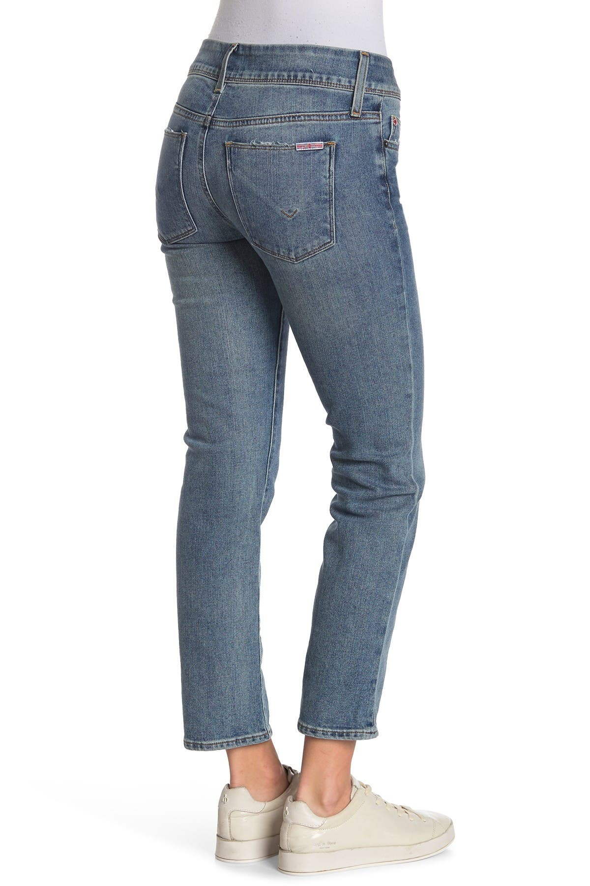 Image of HUDSON Jeans Ginny Crop Straight Leg Jeans