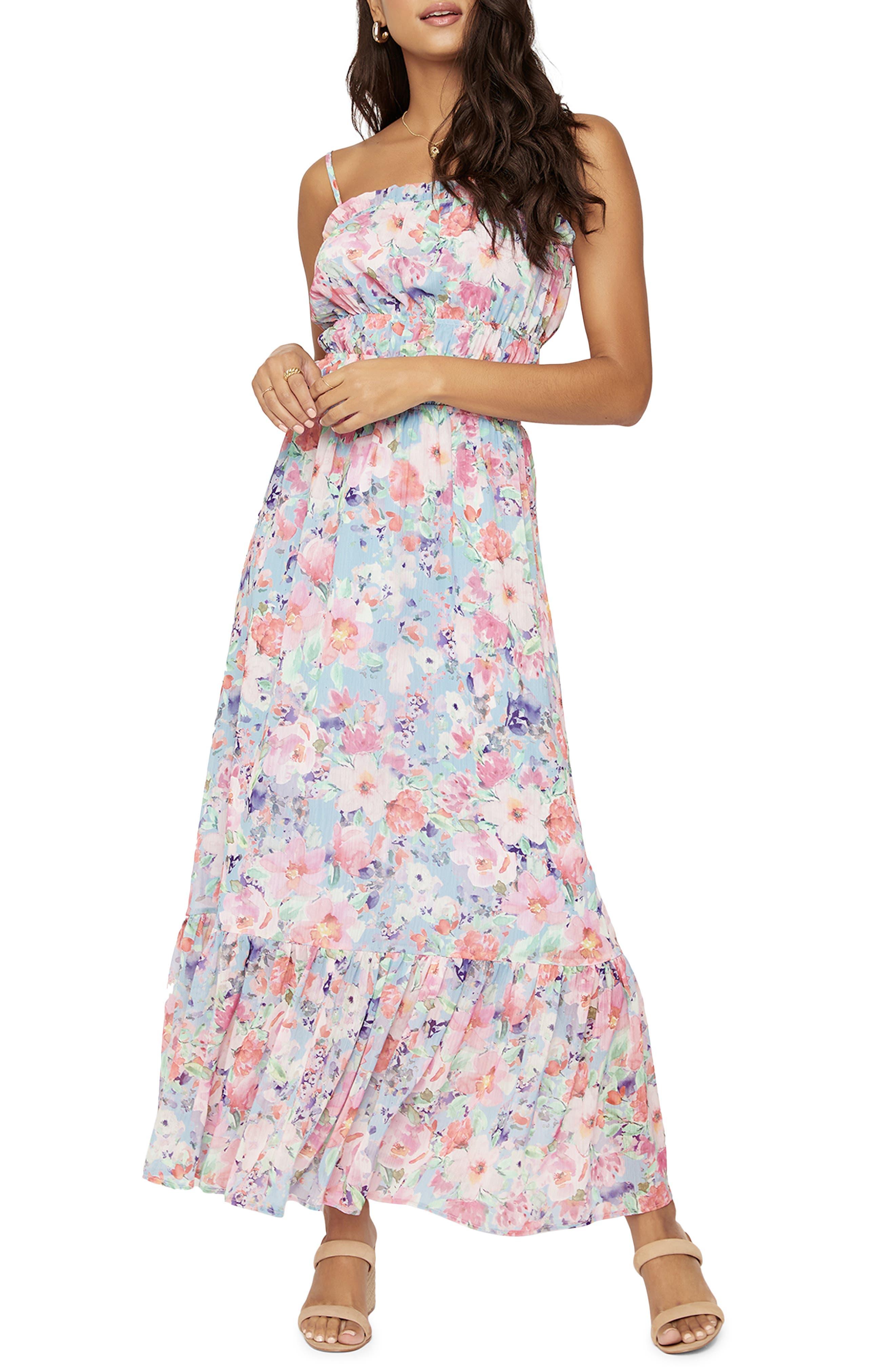 Women's Lost + Wander Garden Smocked Maxi Dress