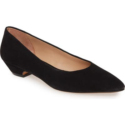 Linea Paolo Bridget Pointy Toe Pump- Black