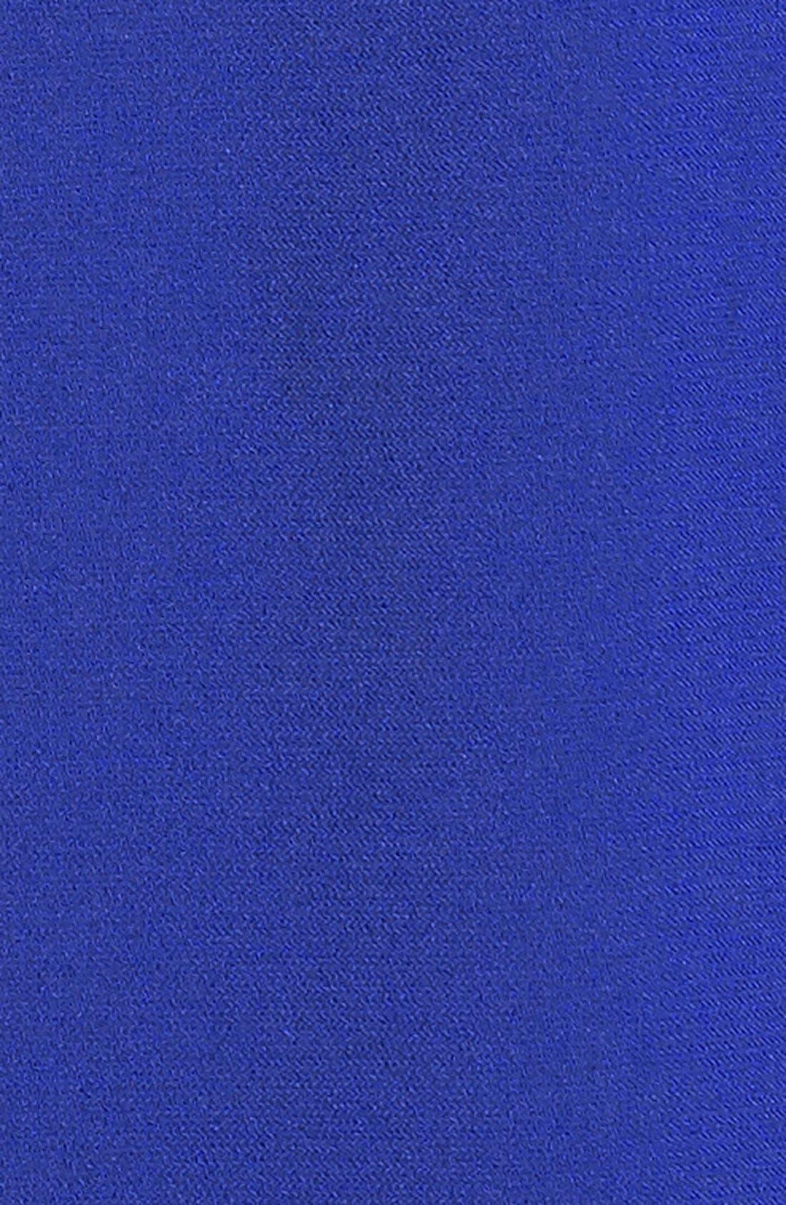 ,                             Illusion Yoke Crepe Sheath Dress,                             Alternate thumbnail 30, color,                             410