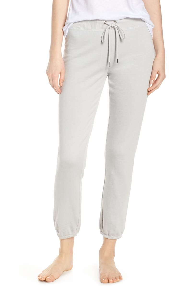 DAVID LERNER Lounge Sweatpants, Main, color, DOVE