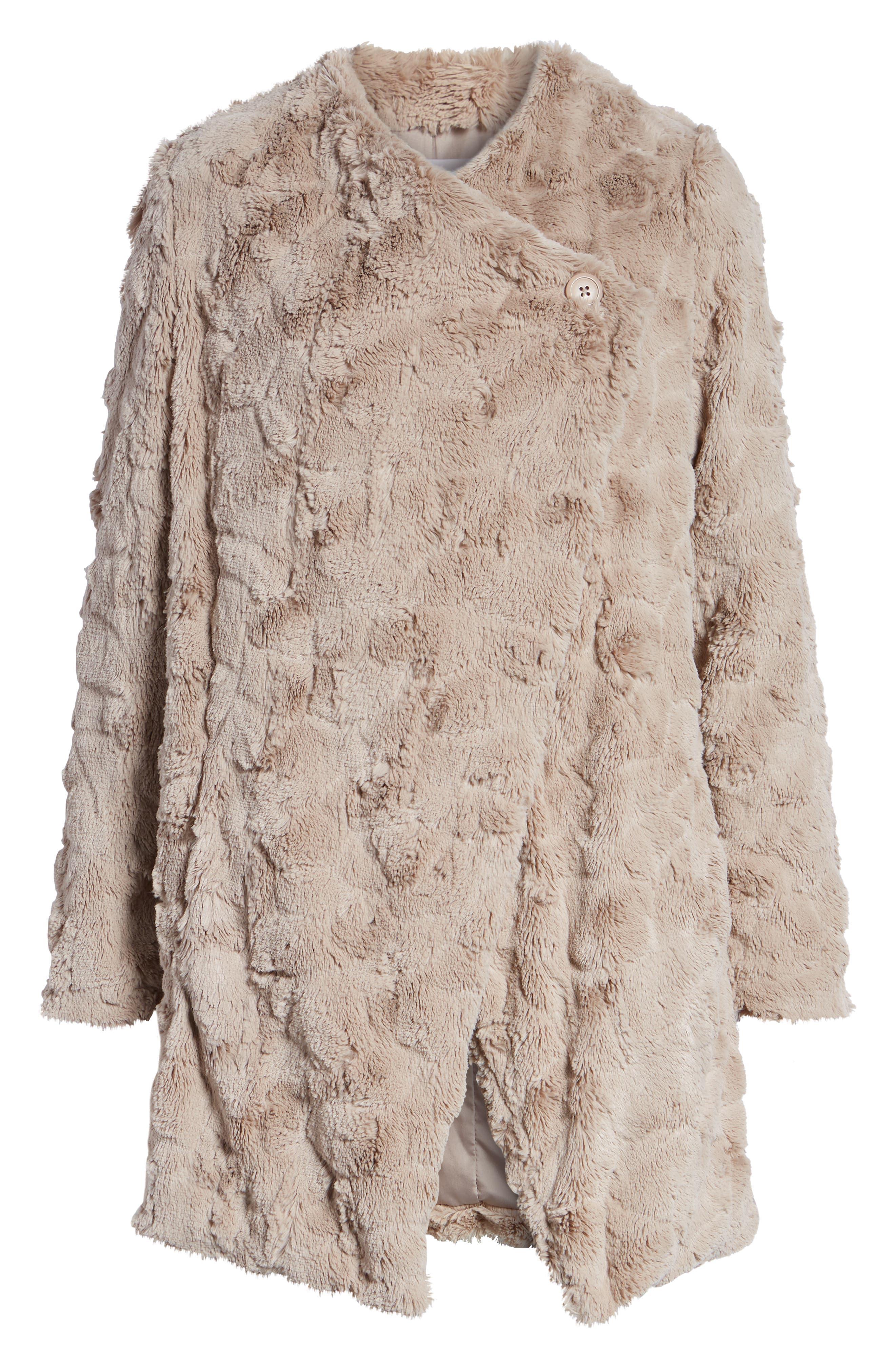 ,                             Tucker Wubby Faux Fur Coat,                             Alternate thumbnail 13, color,                             252