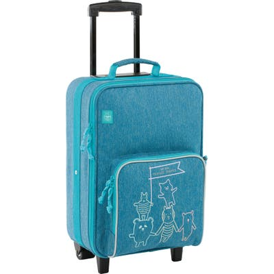 Toddler Lassig About Friends 18-Inch Rolling Suitcase - Blue