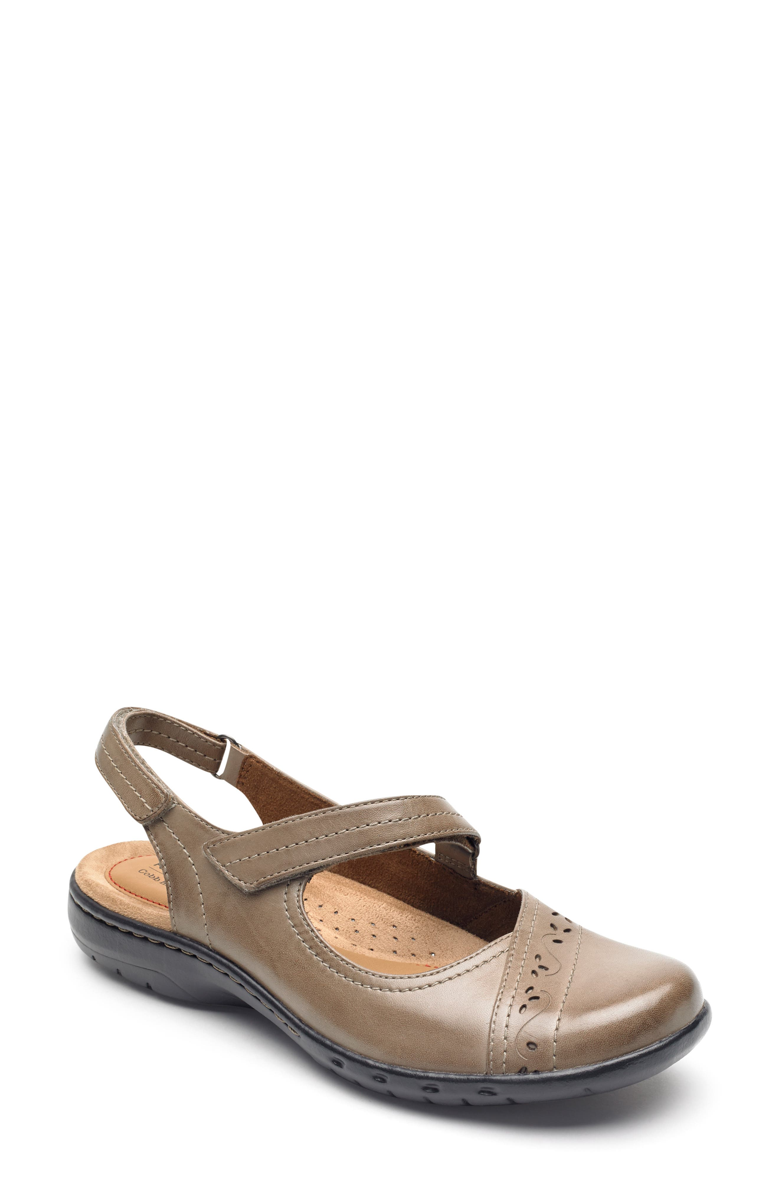 Rockport Cobb Hill Penfield Slingback Mary Jane, Brown
