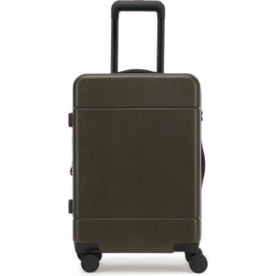 Calpak Hue 22-Inch Expandable Carry-On Suitcase - Green