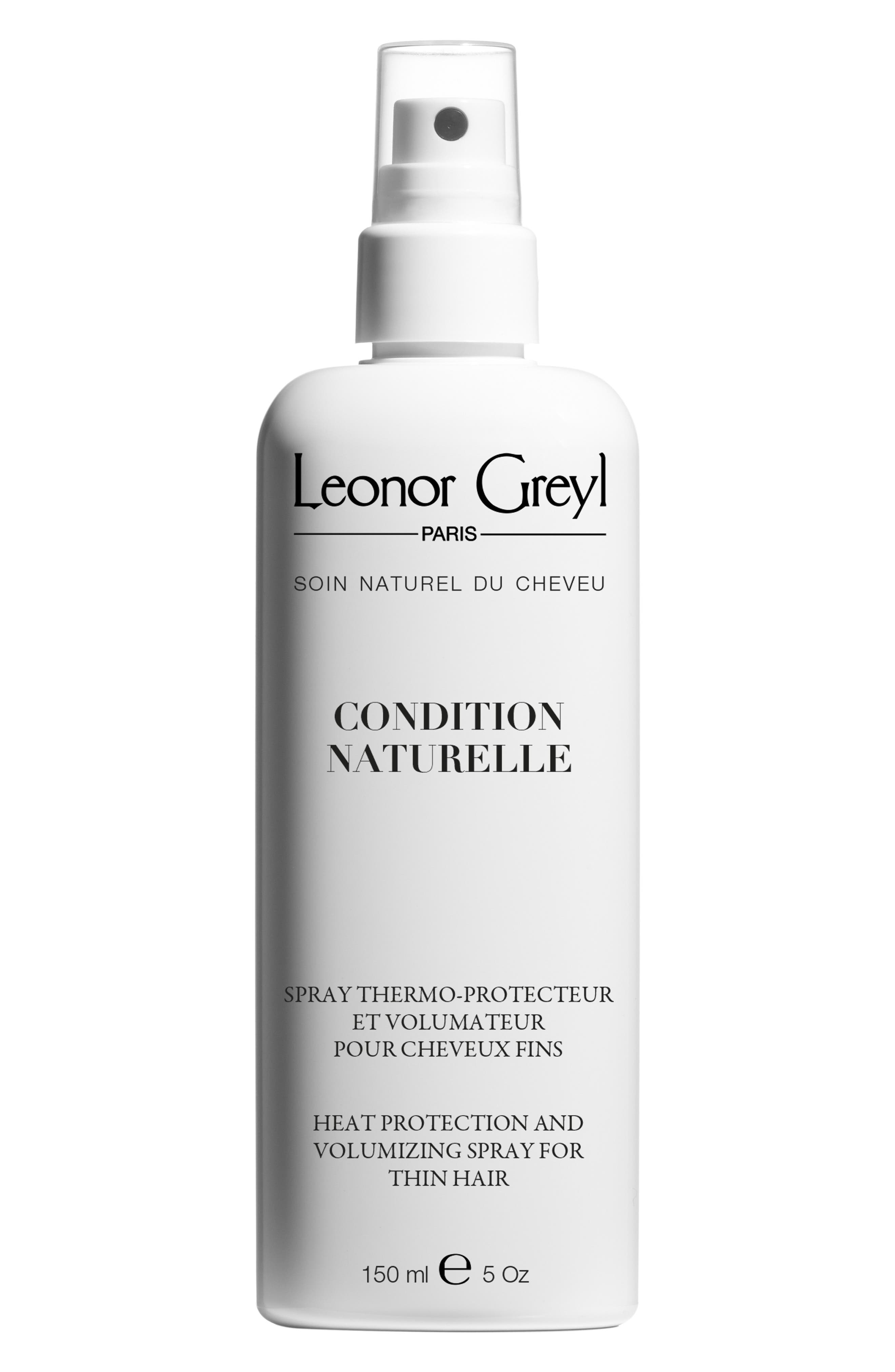 Condition Naturelle Heat Protective Styling Spray For Thin Hair