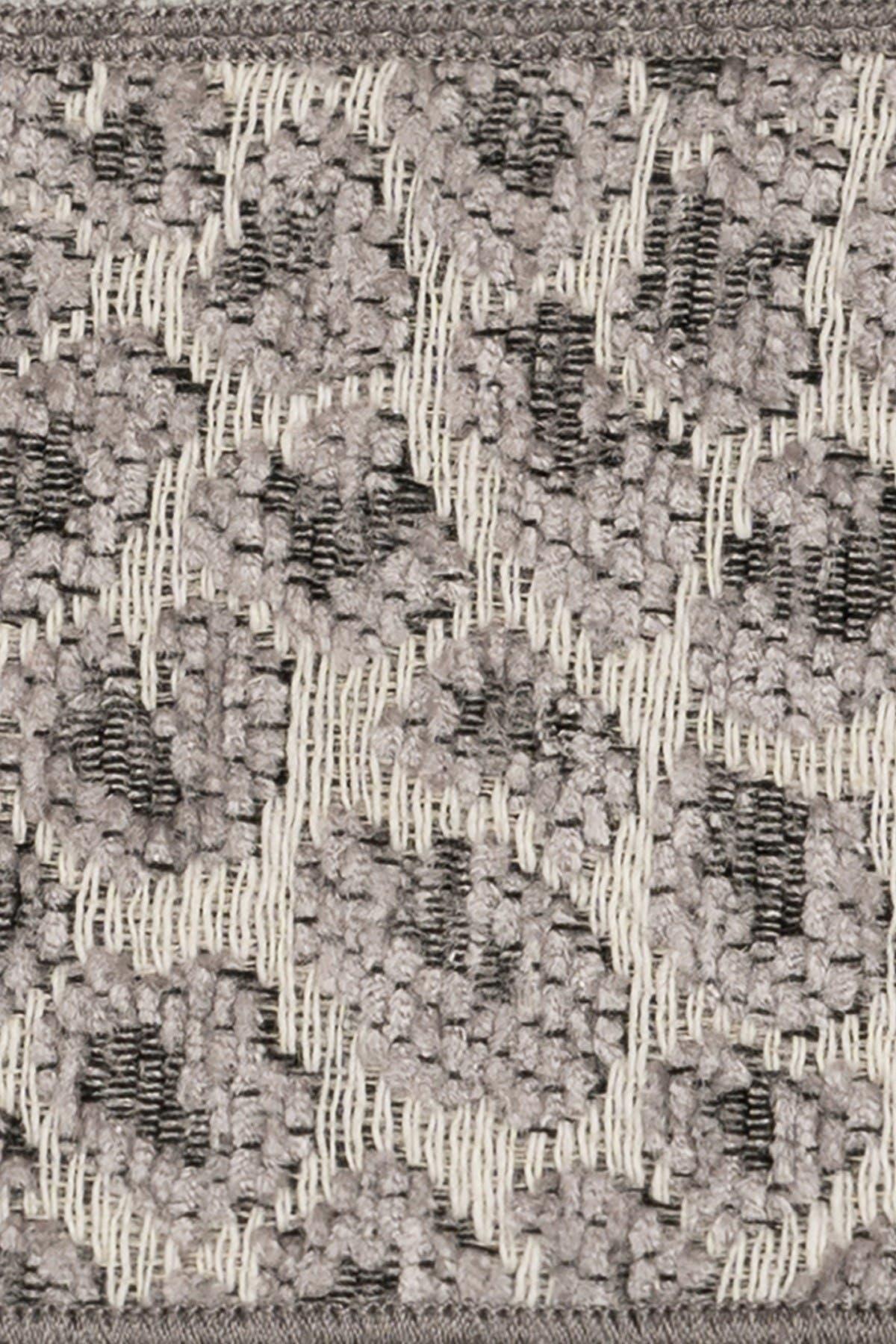 Image of LINUM HOME Spots Embellished Washcloth - Set of 2 - Light Grey