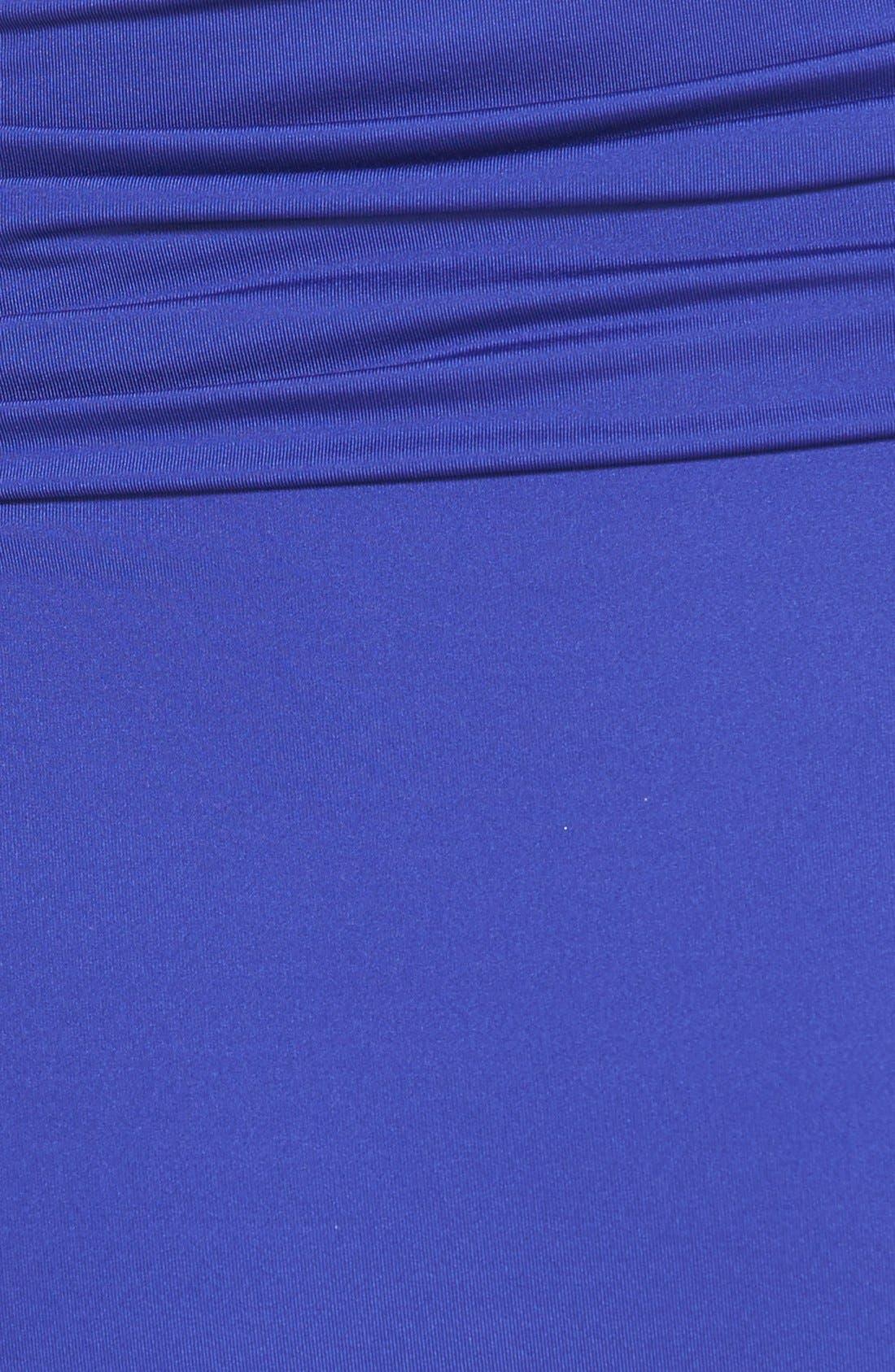,                             Badgley Mischka Dip Back Maillot Swimsuit,                             Alternate thumbnail 9, color,                             400