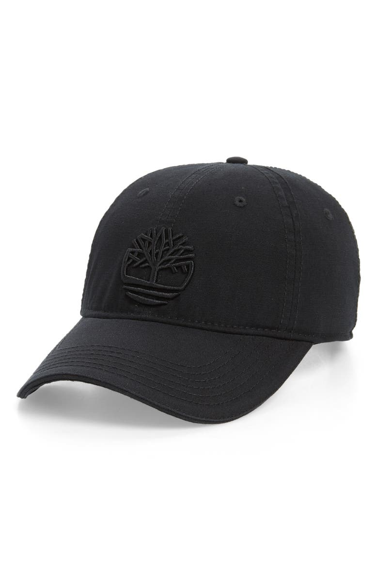 TIMBERLAND Soundview Baseball Cap, Main, color, BLACK