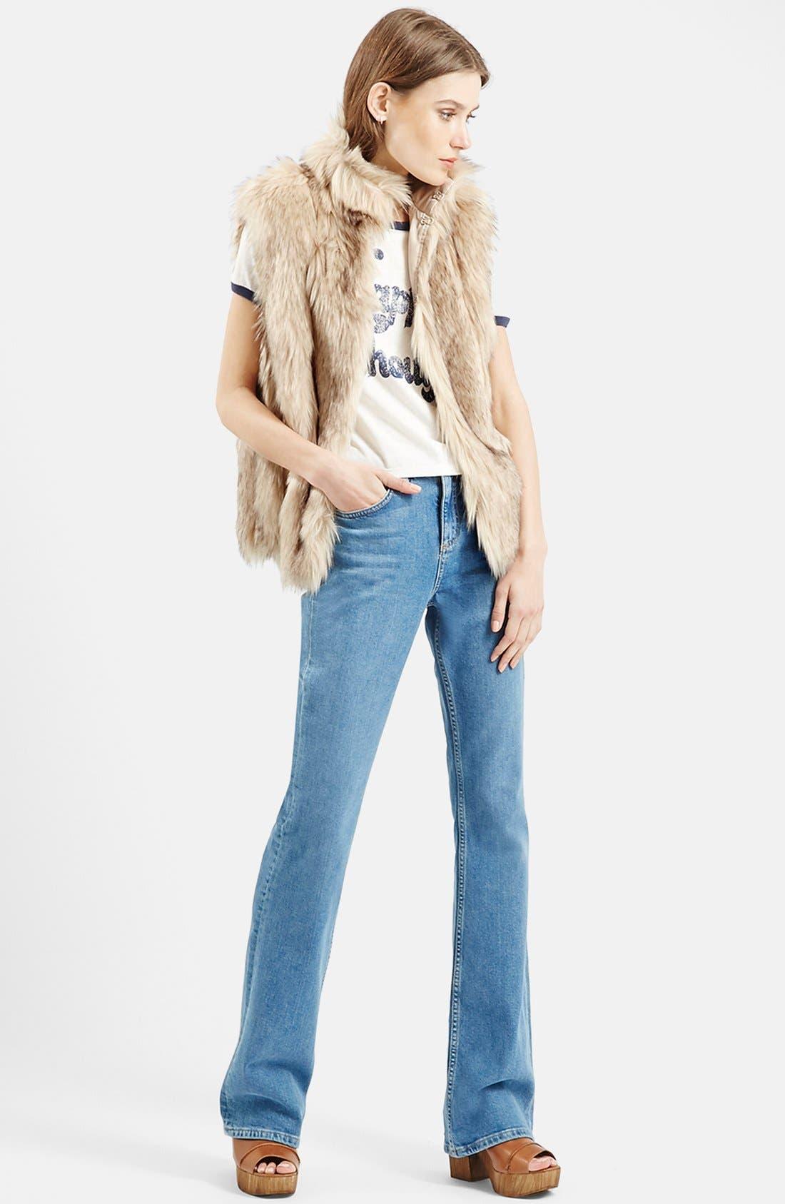 ,                             'Polo Leah' Faux Fur Vest,                             Alternate thumbnail 2, color,                             900