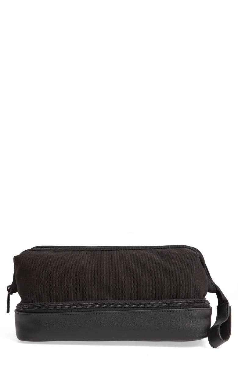 BÉIS The Dopp Cosmetics Case, Main, color, BLACK