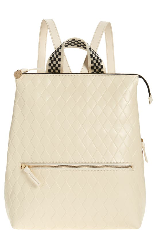 Clare V REMI LEATHER BACKPACK