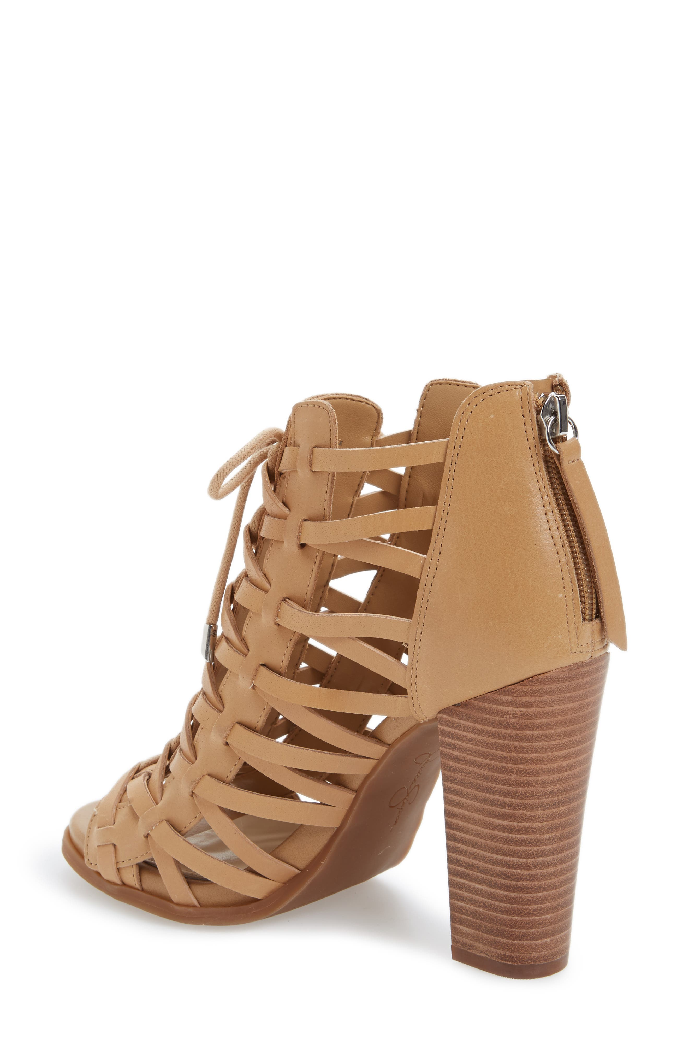 ,                             Riana Lace-Up Bootie,                             Alternate thumbnail 2, color,                             200