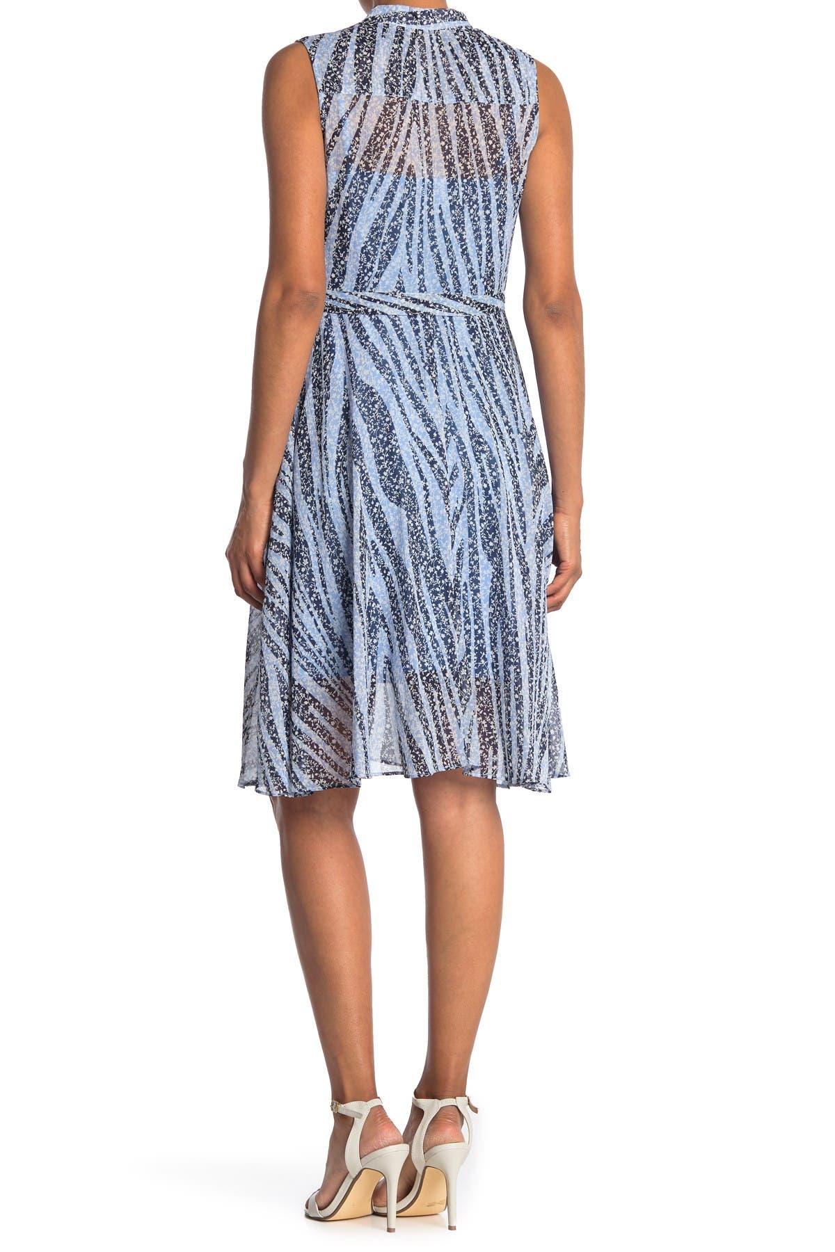 Image of NANETTE nanette lepore Floral Sleeveless Midi Dress