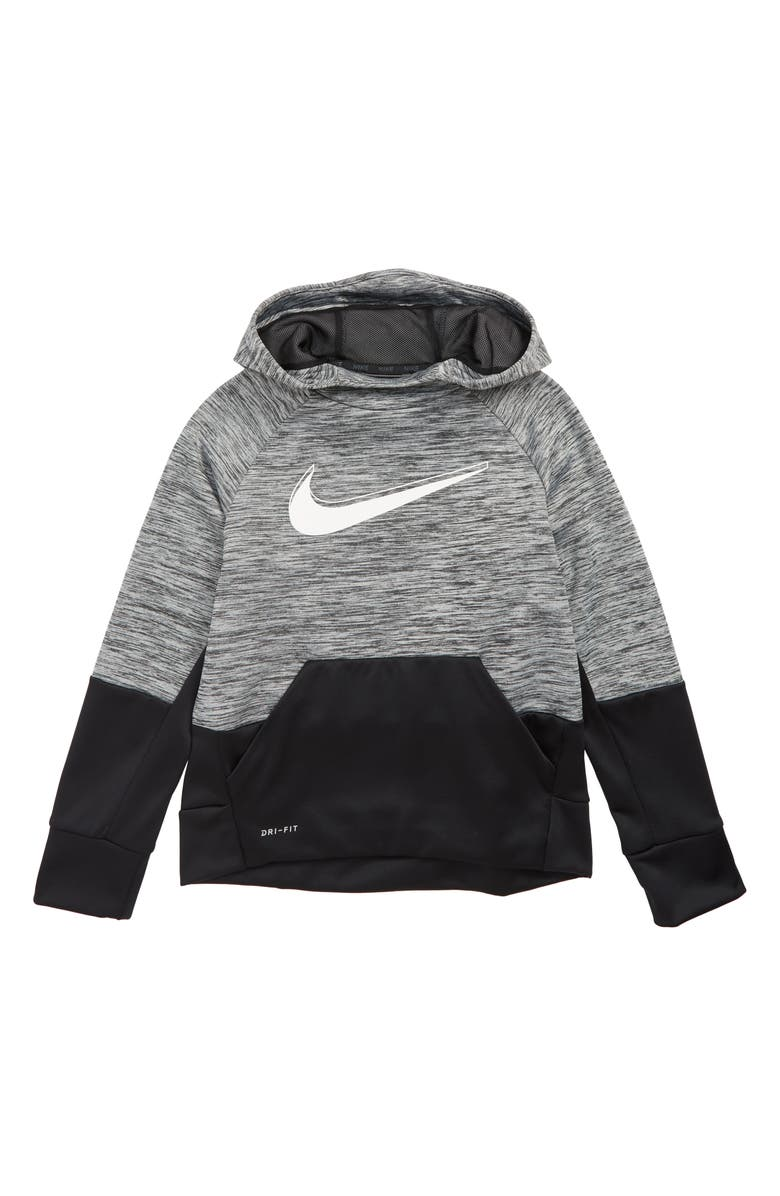 NIKE Dry Therma Hoodie, Main, color, 001
