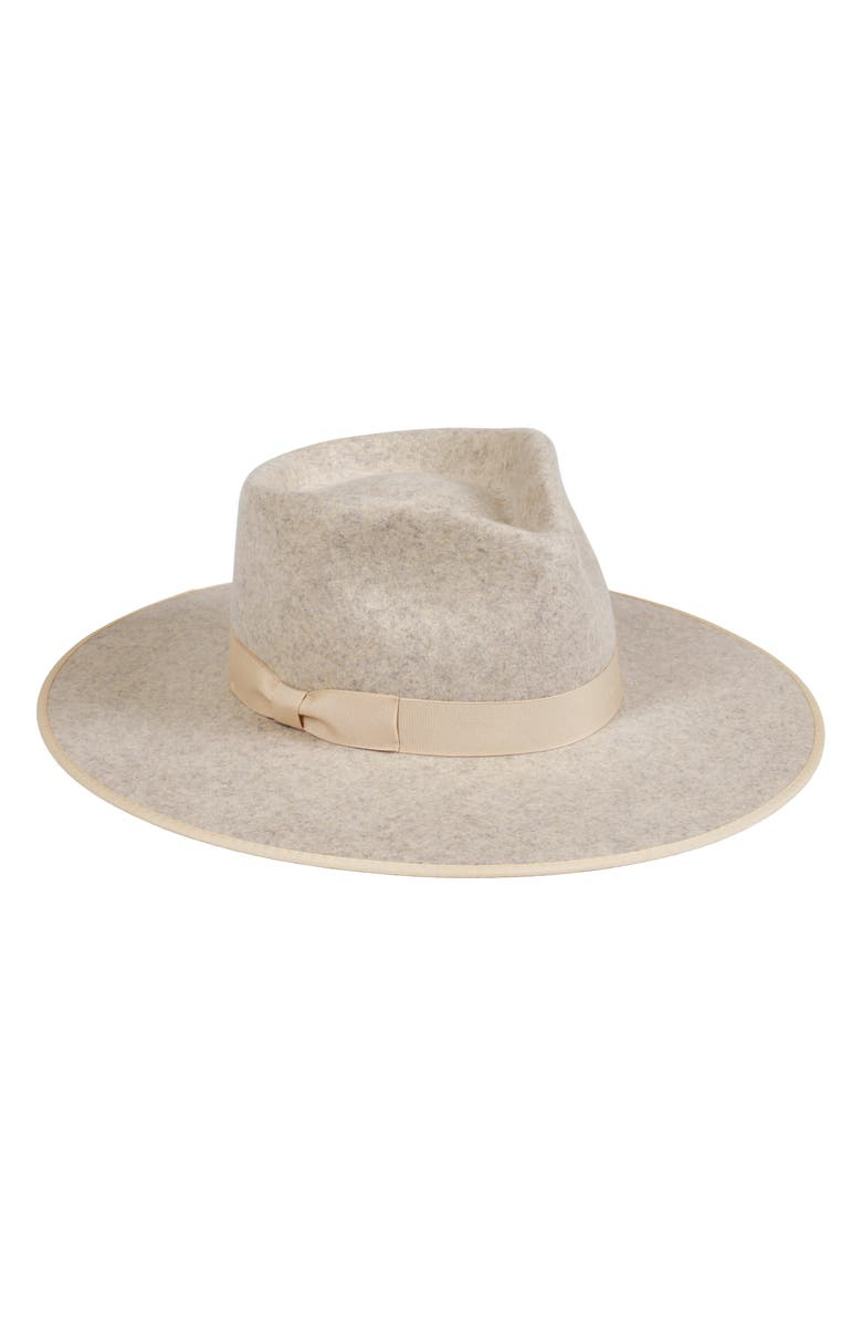 LACK OF COLOR Carlo Wool Rancher Hat, Main, color, 020