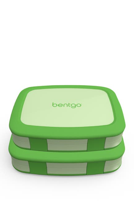 Image of BENTGO 2-Pack of Children's Lunch Box - Green