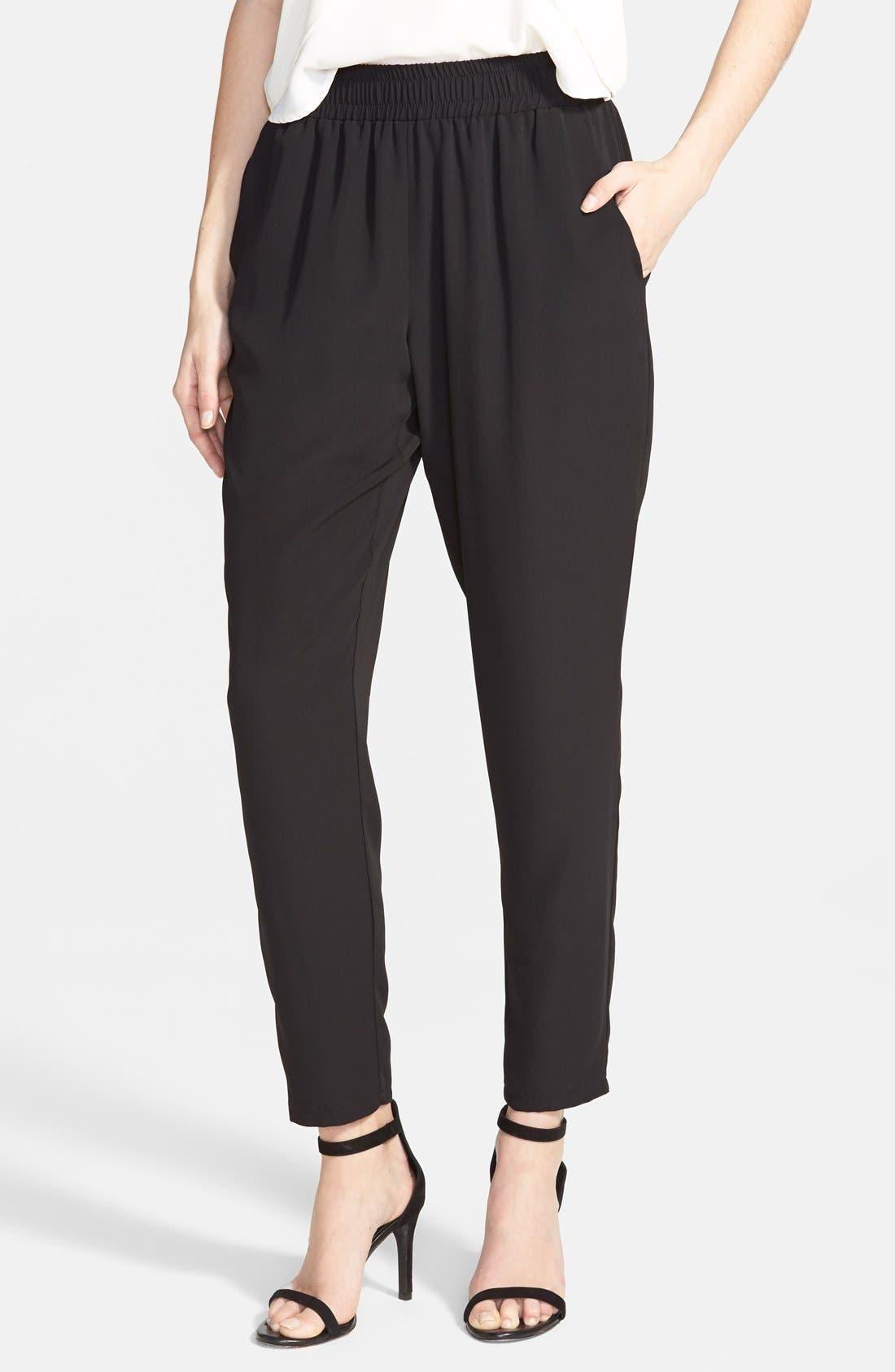 Perfect Woven Pants, Main, color, 001