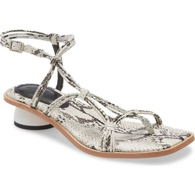 Imagine By Vince Camuto Lona Strappy Sandal- Grey