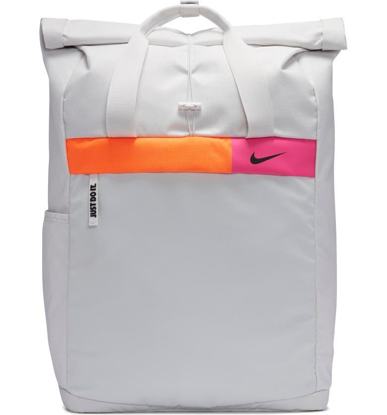 NIKE Radiate Training Backpack, Main, color, PLATINUM TINT/ BLACK