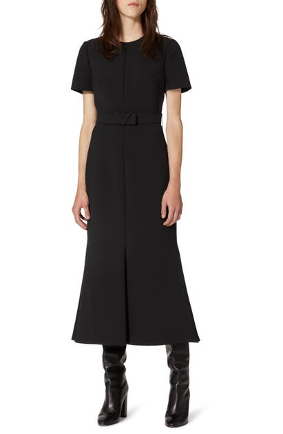 Valentino BELTED TRUMPET DRESS