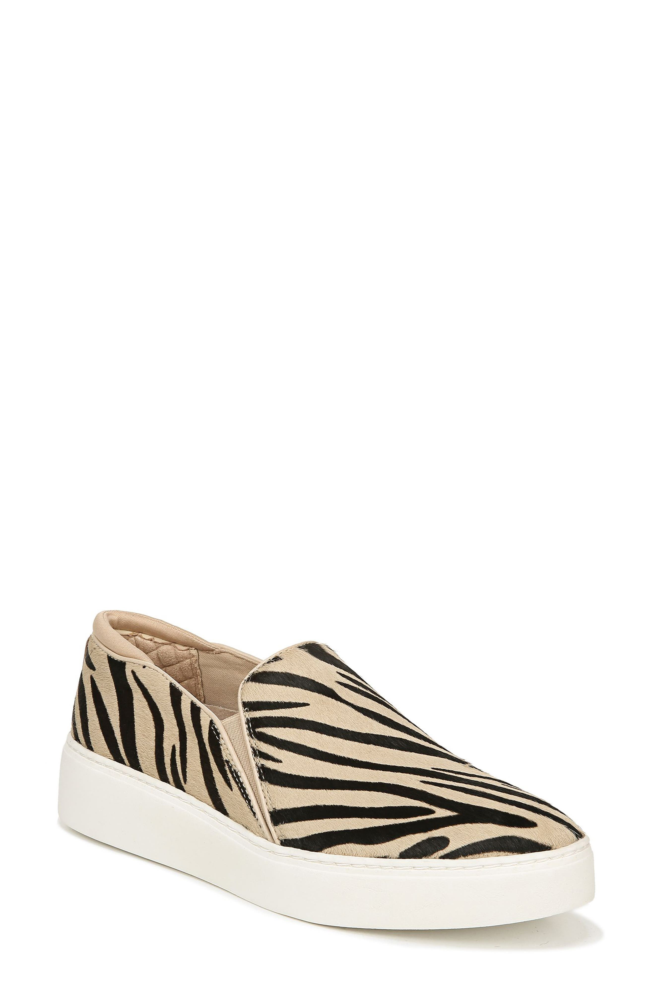 Image of Dr. Scholl's Dazed Genuine Calf Hair Slip-On Platform Sneaker