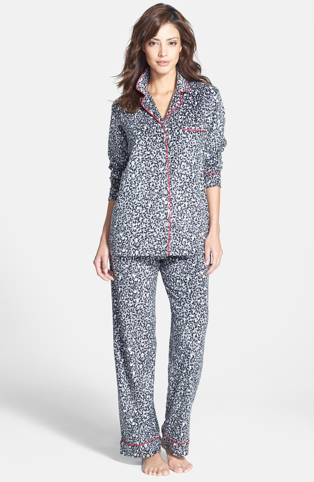 ,                             Long Sleeve Microfleece Pajamas,                             Alternate thumbnail 20, color,                             039