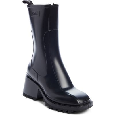 Chloe Betty Rain Boot, Black