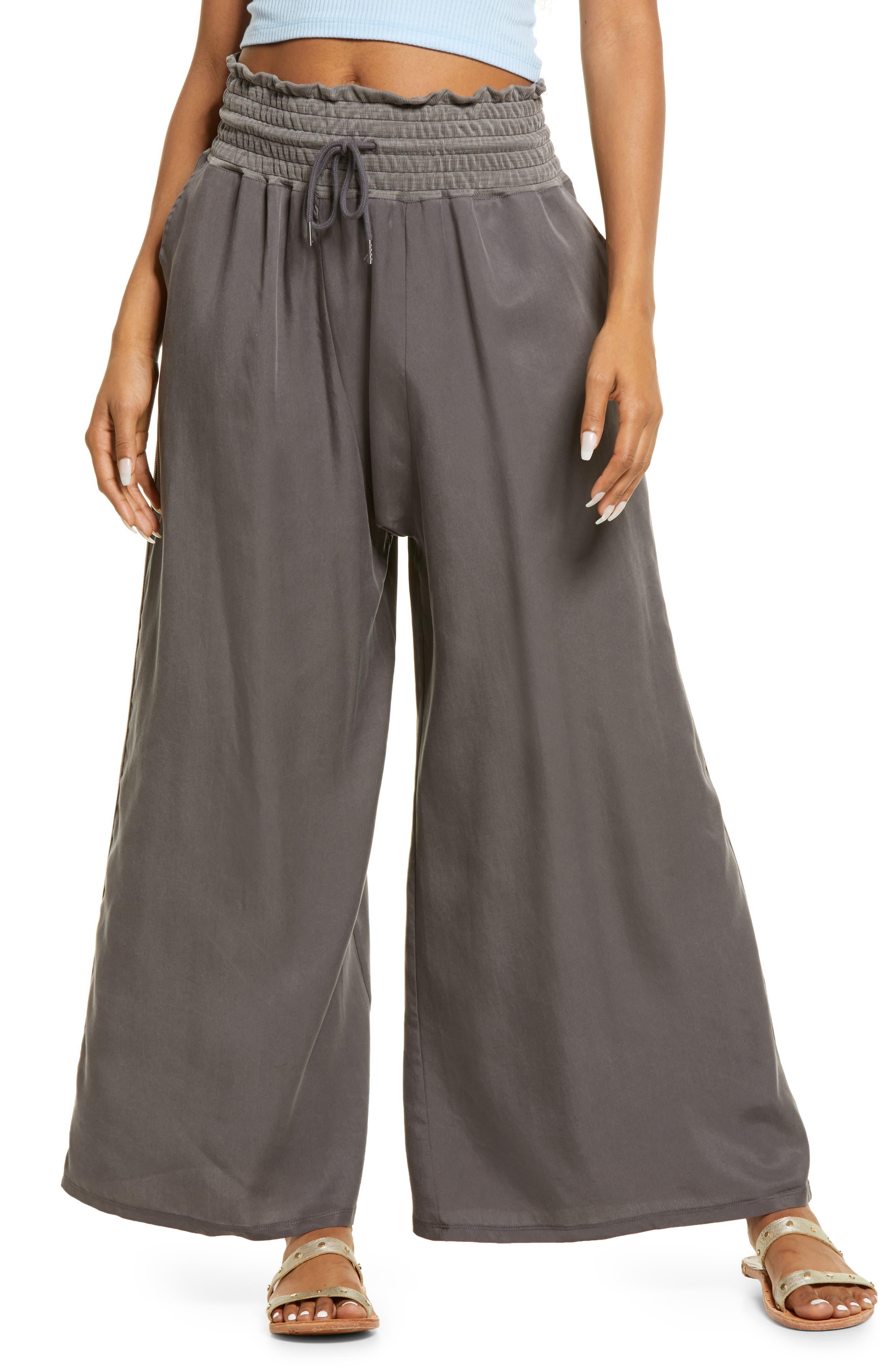 Women's Free People Mia Wide Leg Twill Pants