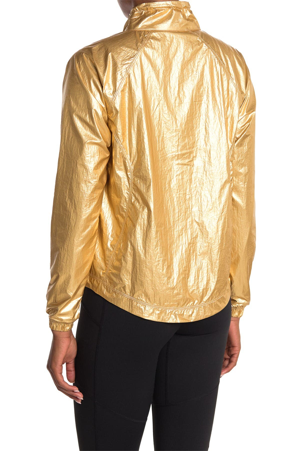 Image of Good American Medal Winning Running Jacket