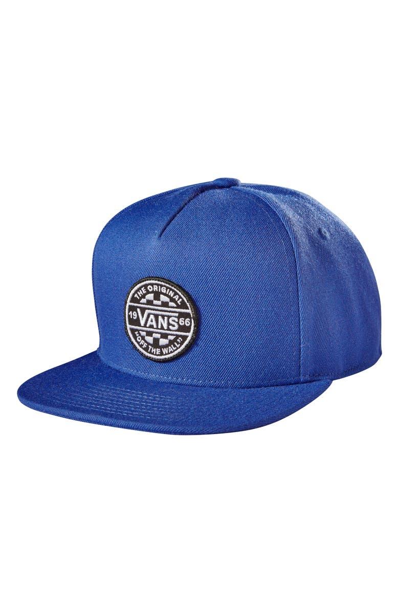VANS Best in Class Snapback Baseball Cap, Main, color, 401