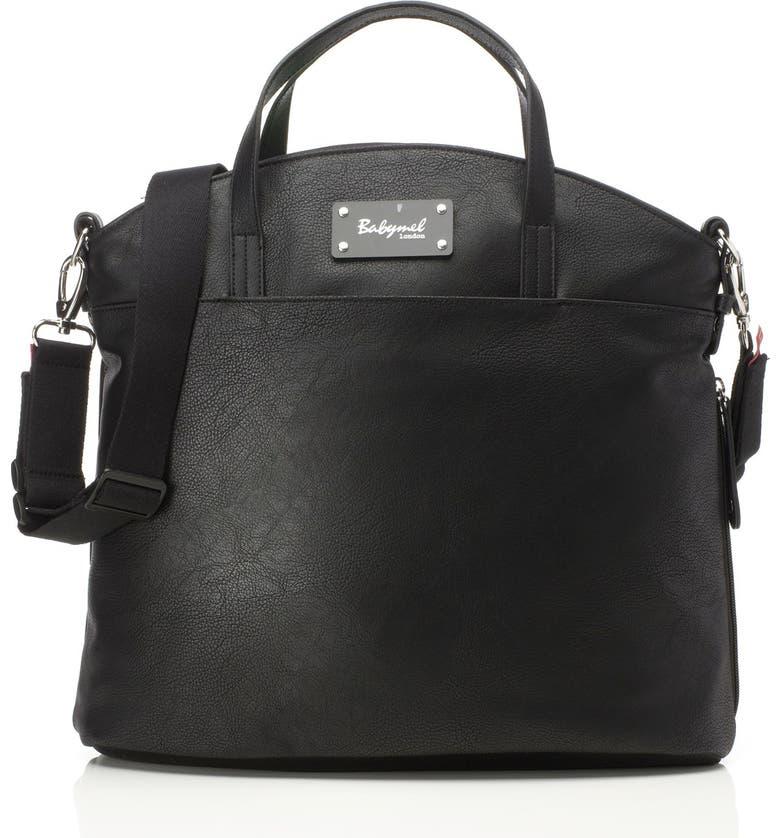 BABYMEL 'Grace' Diaper Bag, Main, color, 001