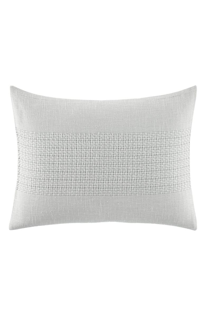 VERA WANG Silver Birch Accent Pillow, Main, color, SILVER