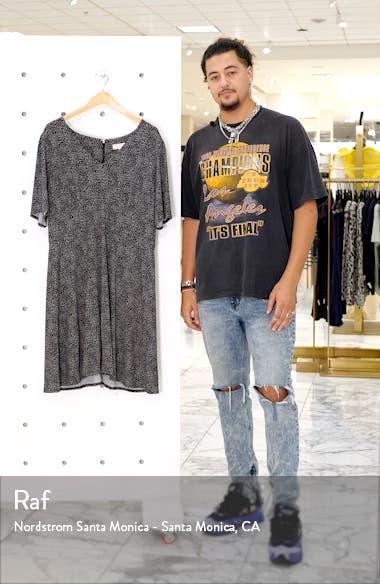 Cheetah Print V-Neck Dress, sales video thumbnail