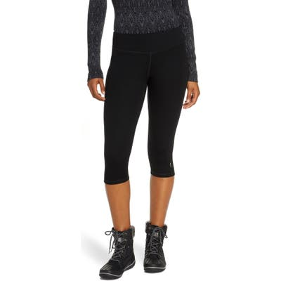 Smartwool Merino 250 3/4 Base Layer Bottoms, Black