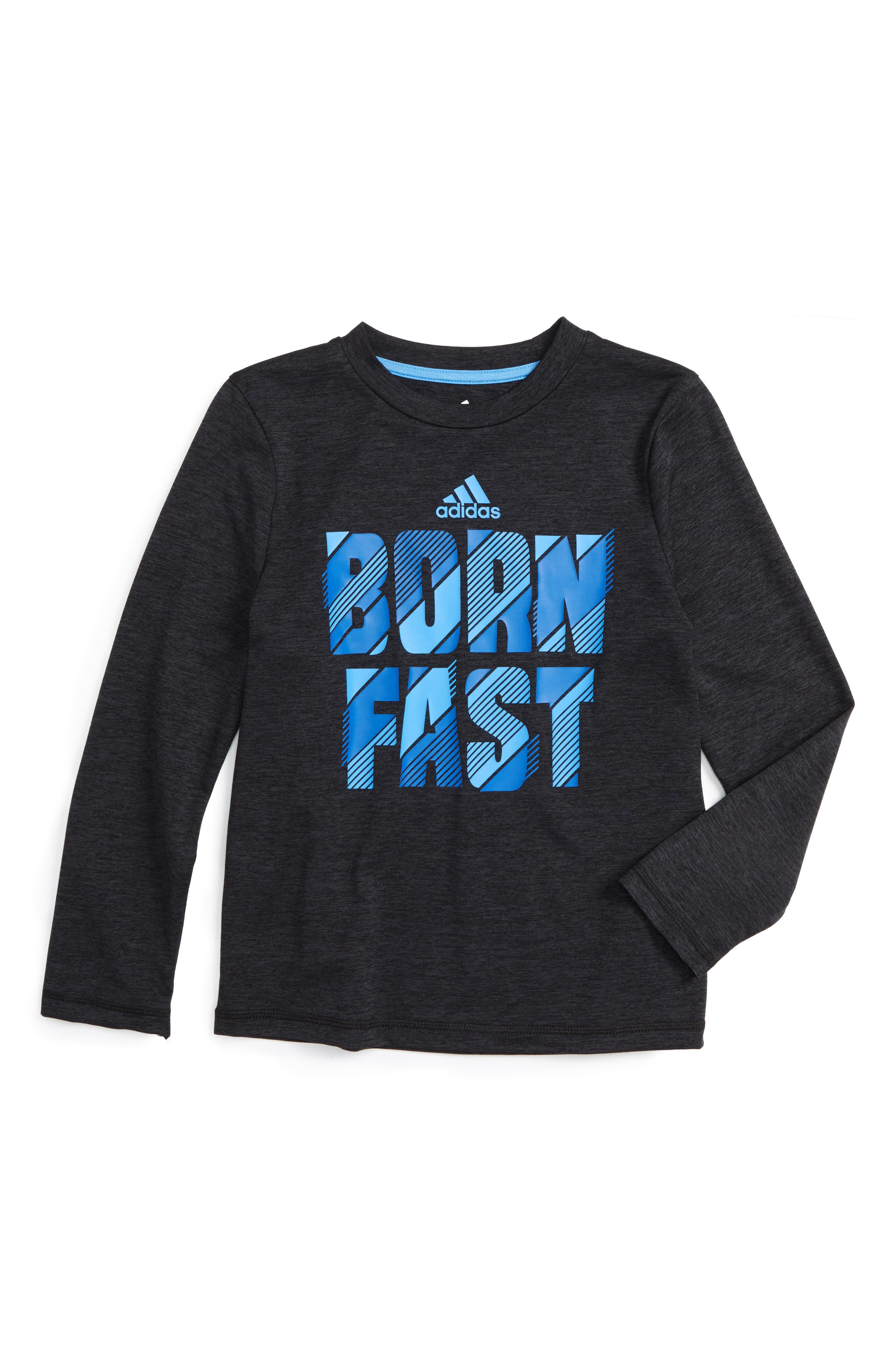 Adidas Little Boys Graphic Crew Neck Tee Shirt New