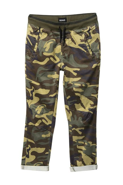 Image of HUDSON Jeans Woven Twill Camo Jogger Pants