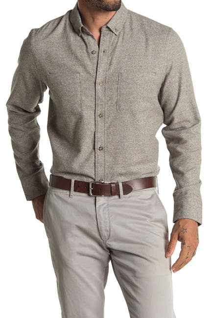 Image of WALLIN & BROS Grindle Long Sleeve Regular Fit Shirt