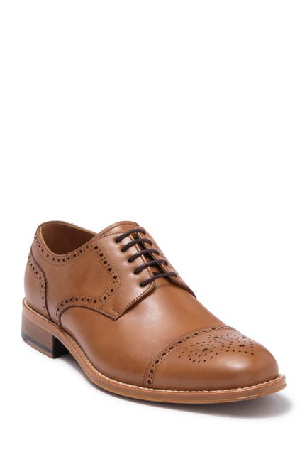 Image of SEPOL Rome Brogue Cap Toe Derby