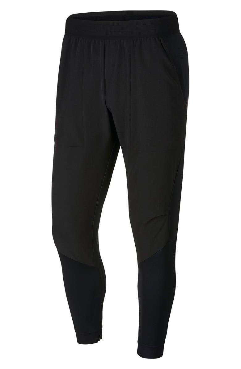 NIKE Flex Training Pants, Main, color, BLACK/ BLACK
