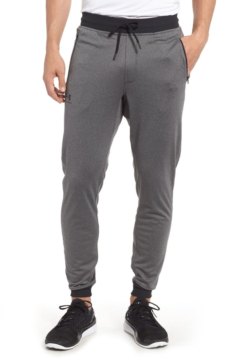 UNDER ARMOUR Sportstyle Slim Fit Knit Jogger Pants, Main, color, GREY