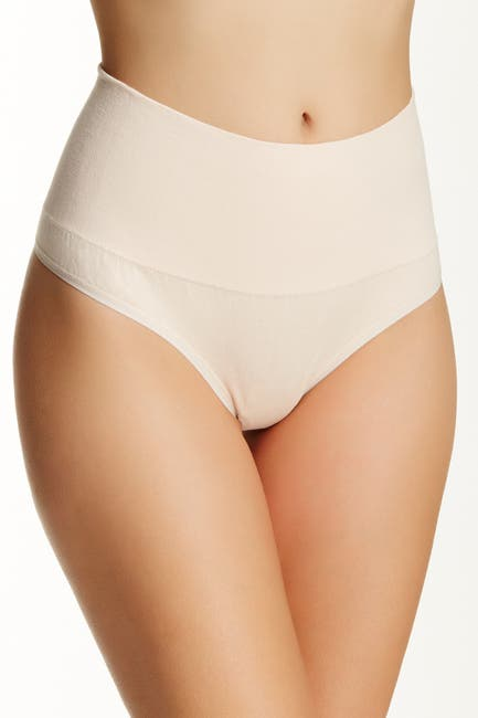 Image of Yummie by Heather Thomson Seamless Shaping High Waist Thong