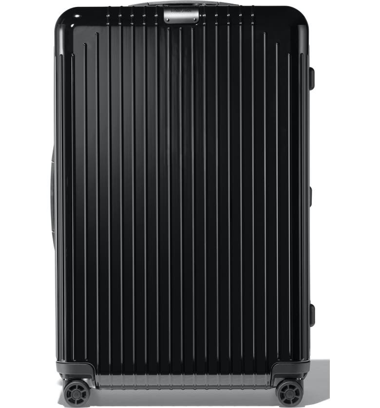 RIMOWA Essential Lite Check-In Large 31-Inch Wheeled Suitcase, Main, color, BLACK