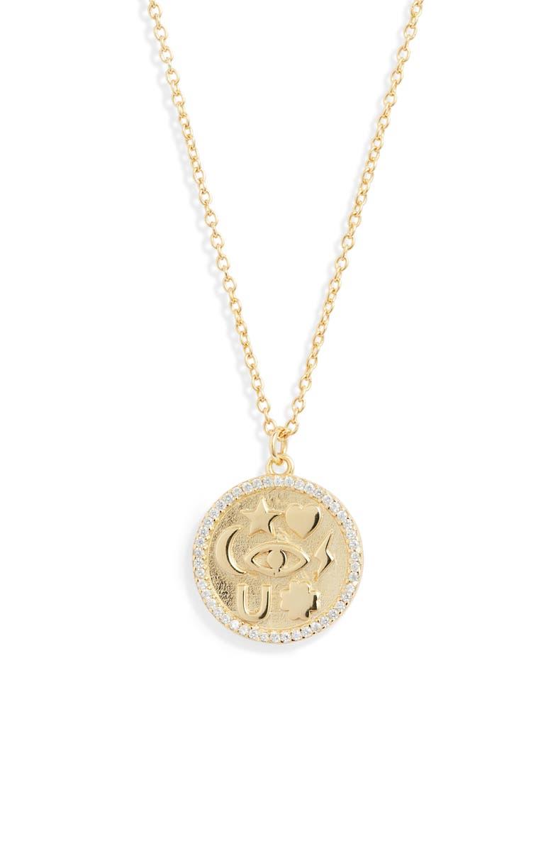 ARGENTO VIVO Sentimental Pendant Necklace, Main, color, 710
