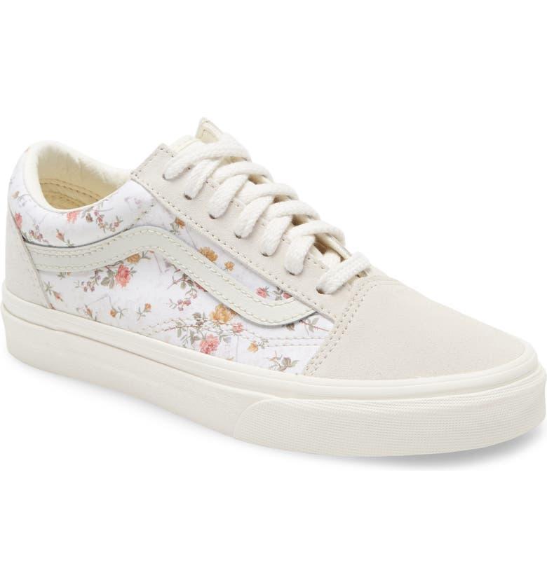 UA Old Skool Lux Floral Sneaker