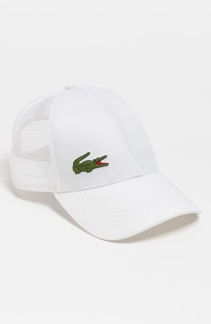 Lacoste Trucker Hat - White