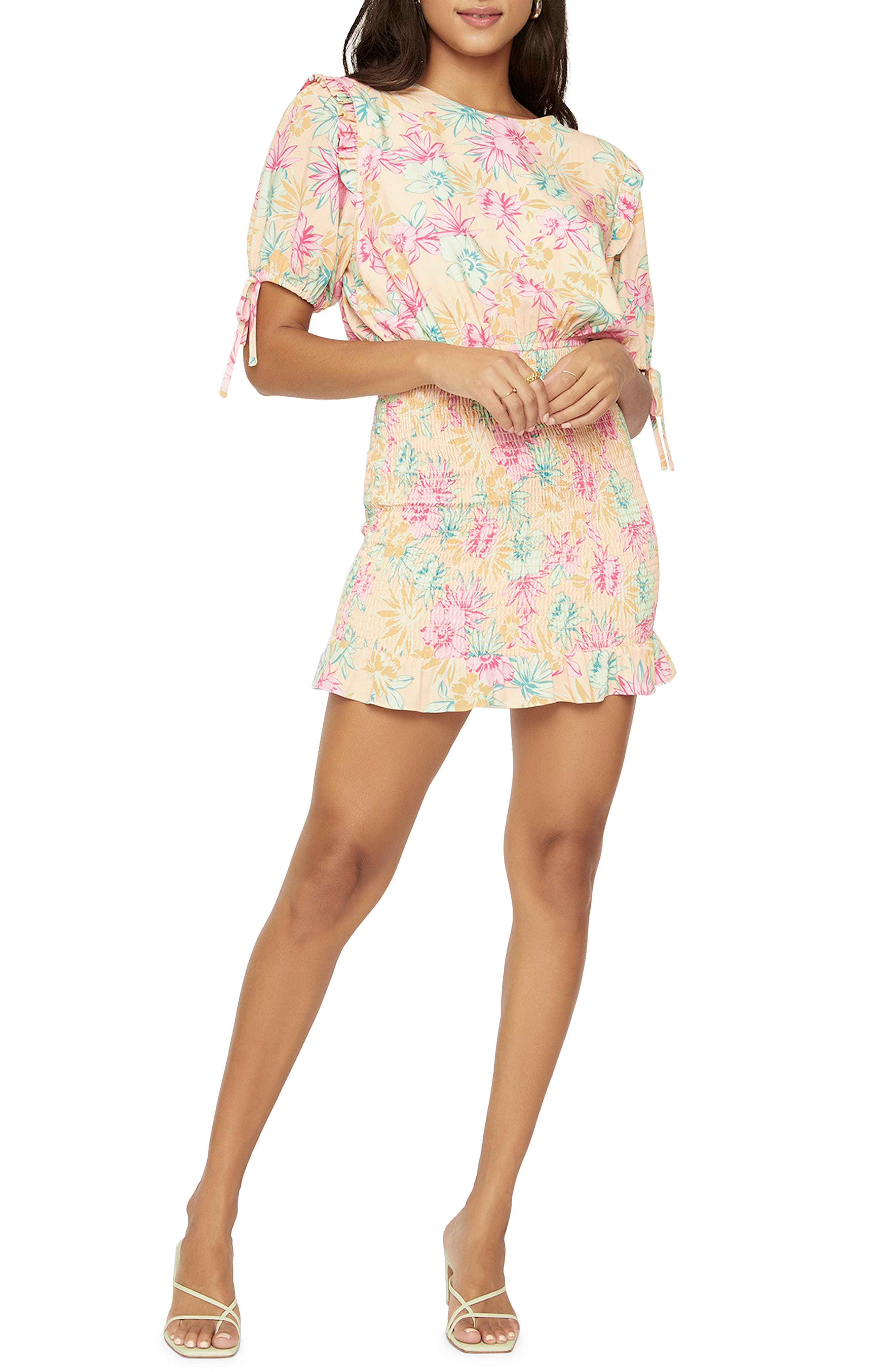 Women's Lost + Wander Sunkissed Aloha Floral Dress