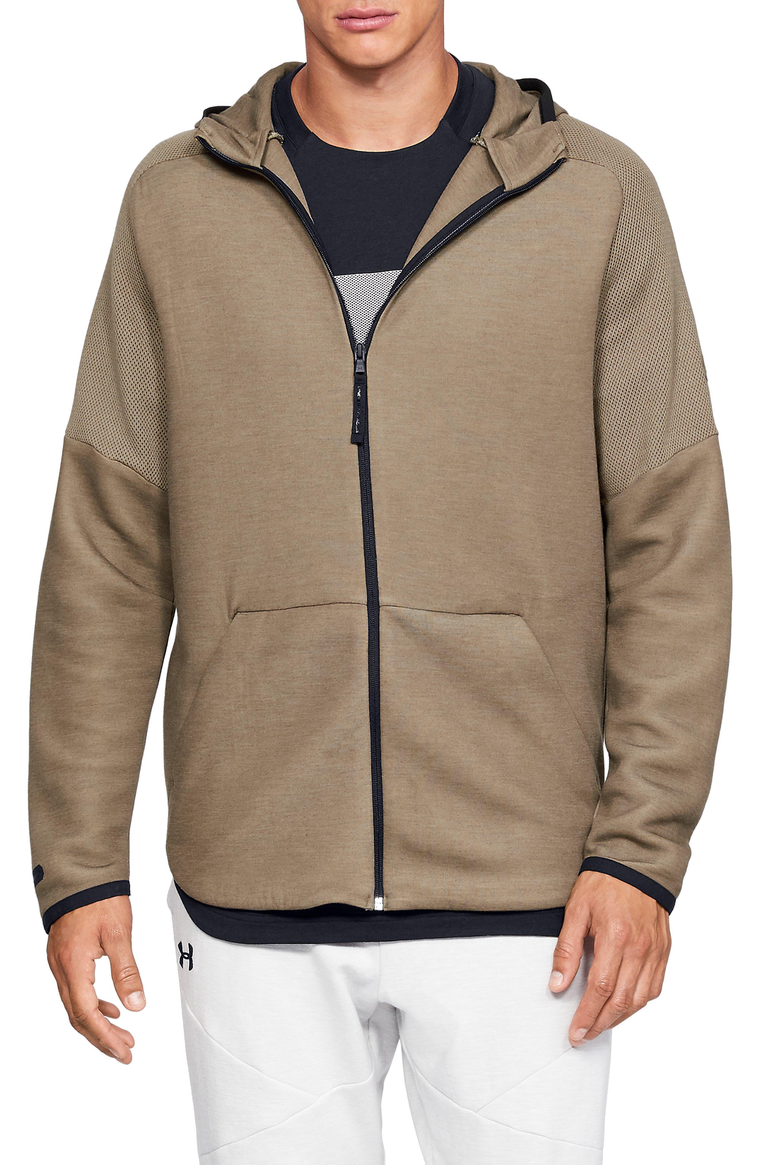 ,                             Unstoppable Move Light Full-Zip Hooded Sweatshirt,                             Main thumbnail 12, color,                             200